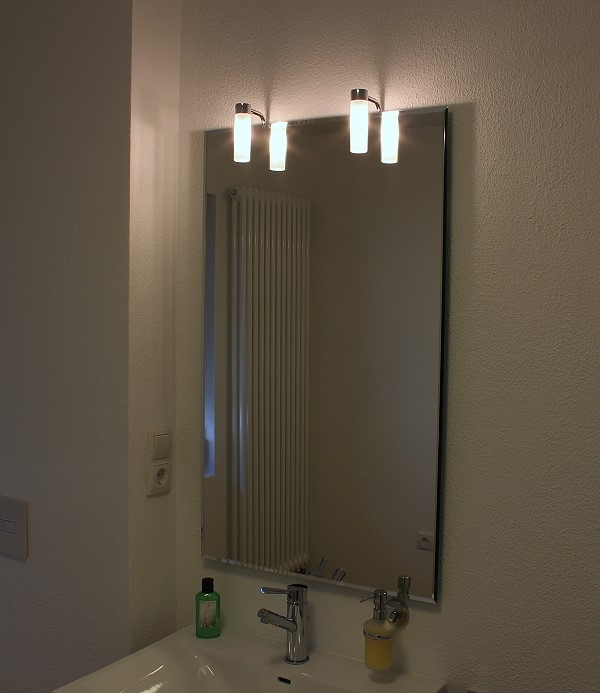 alta ii led badspiegel leuchtspiegel. Black Bedroom Furniture Sets. Home Design Ideas