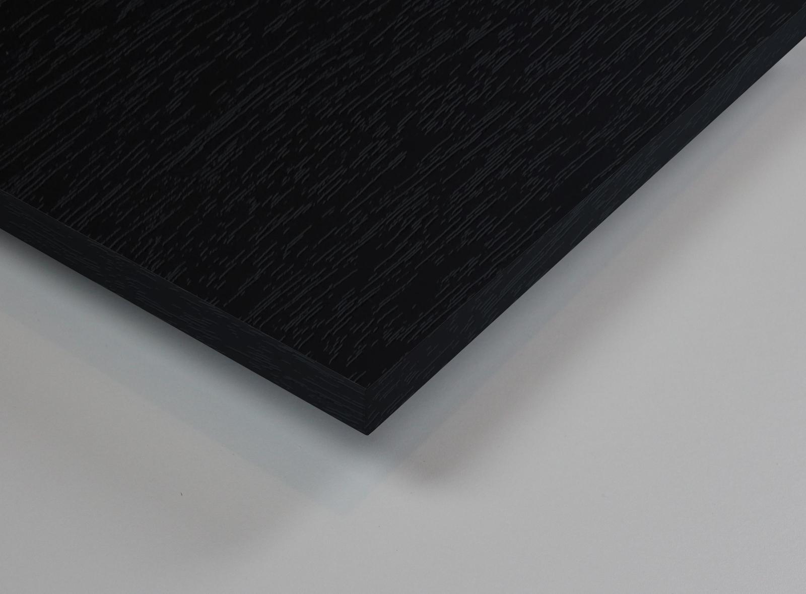 dekorholz schwarz feinpore mat t holzzuschnitt. Black Bedroom Furniture Sets. Home Design Ideas