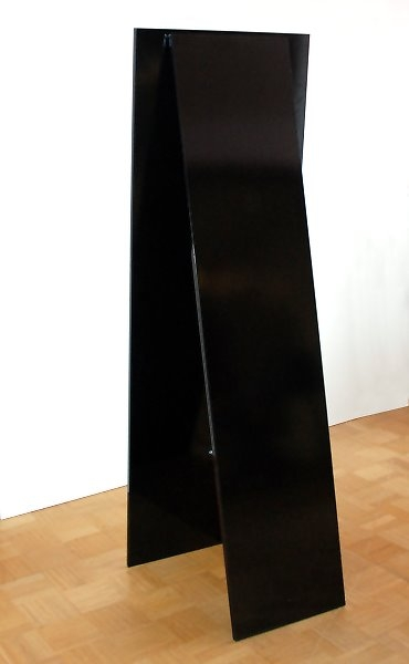 standspiegel estato auf holzr ckwand 60 x. Black Bedroom Furniture Sets. Home Design Ideas