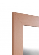 Echtholzfurnier-Spiegel Buche 8 cm