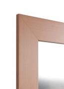 Echtholzfurnier-Spiegel Buche 10 cm