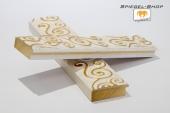 Arte Weiß & Gold Musterleiste