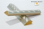 Zopf Silber Musterleiste